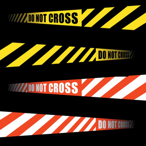 Do not Cross Lines