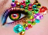 Rainbow Eye 1