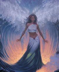Water goddess