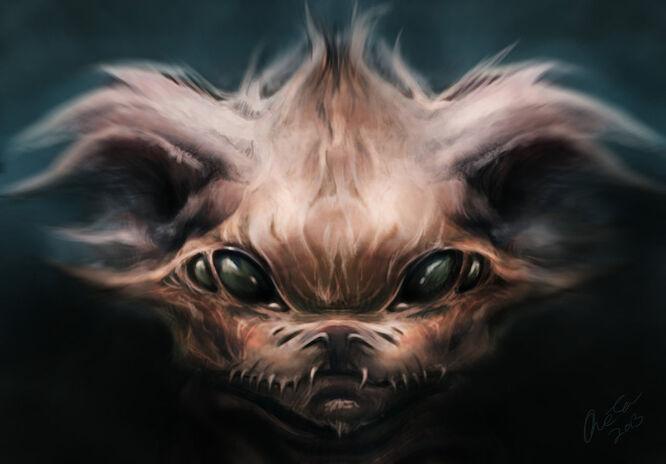Demonic chihuahua