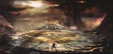 Zeus' battle arena
