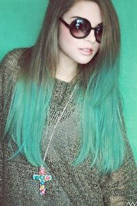 Ombre hair giranjege