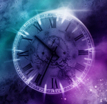 Time purple