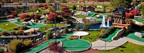 Miniature golf course 650