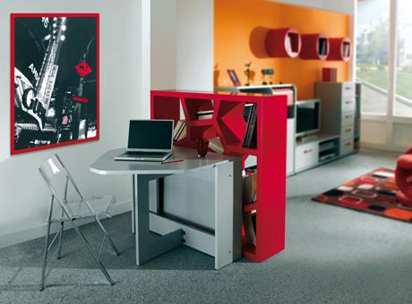 Modern-hi-tech-bedroom-interior