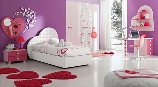 Calm-teenage-girl-bedroom-decorating-ideas