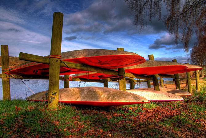 Canoes by thebaldingone-d4sblti