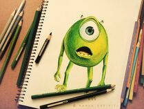Desenho-mike-monsters-inc-photography-wazosky-Favim.com-452174