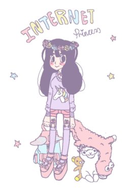 Internet princess
