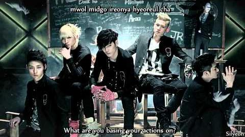 MV HD NU'EST - Face (eng sub romanization)