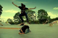 Skate park by ladymonroe