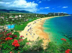 Kaanapali Beach Maui Hawaii