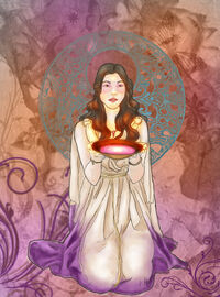 Hebe Goddess of Youth by ladybluewings01