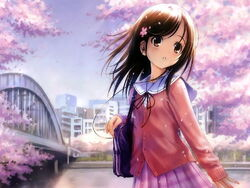 Anime Girl-schoolgirl 022297