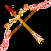 Ruby bow fire opal arrow by sunrise oasis