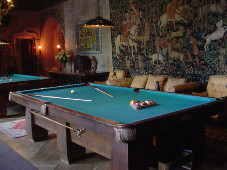 Castle Pool Table