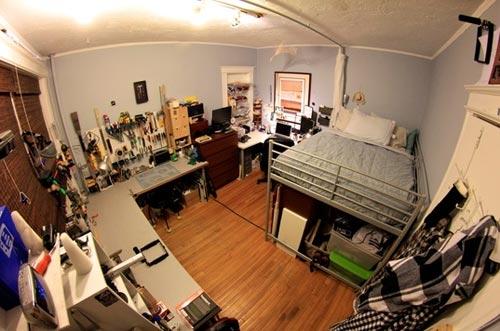 Cass' bedroom