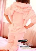 Autumn-and-winter-rabbit-ear-hats-animal-lounge-rabbit-sleepwear-coral-fleece-sleepwear-female-cartoon-set.jpg 350x350