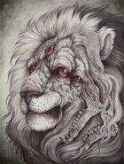 Nemean lion by caitlinhackett-d70nrte