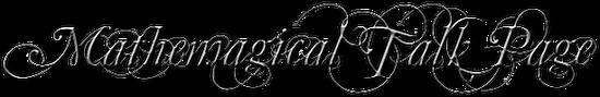 MathemagicTalk