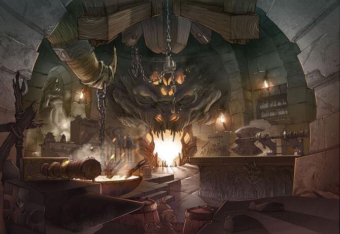 Ashtaria the forge by xavor85-d3jvw61