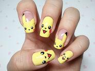 Pikachu-Nails-Kawaii-Manicure