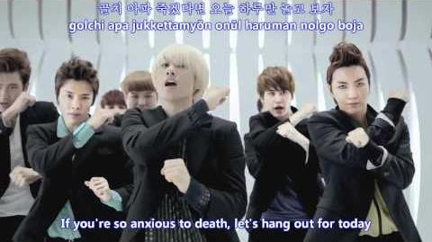 Super Junior - Mr Simple MV english subs romanization hangul