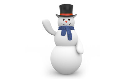 Snowman-with-black-hat-wallpapers 16427 1920x1200