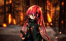 Anime-girl-with-red-hair-and-a-sword-wallpaper 3553