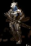 Snow assassin cyborg by robintran-d6kxldi