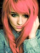 Pink edit hair by charlotte lucyy-d3jyxyc