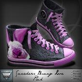 Sneakers-bunny-love-pink