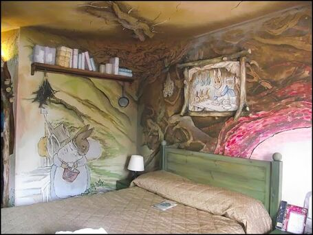 Peter rabbit bedroom - decorating peter rabbit theme bedroom - peter rabbit theme room ideas - Beatrix Potter themed nursery-6