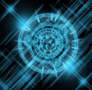Blue Arcane Symbol
