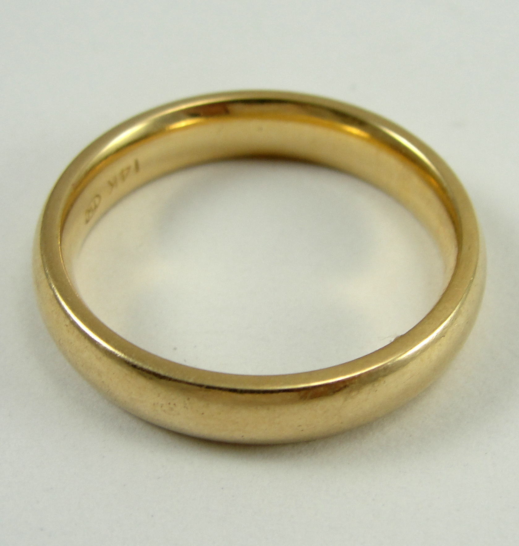 Image - 1315588494 14K-Yellow-Gold-Ring-Band-Wedding-4.15mm-Width ...