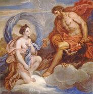 Iris and Zeus