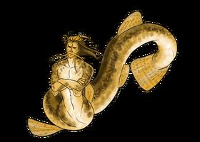 Dojo loach mermaid by space moose-d6gy668