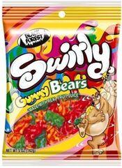 Black forest swirly gummy bears