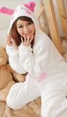 Free-shipping-new-designer-sweat-suits-for-women-animal-print-pajamas-for-girls-white-rabbit-sleepwear