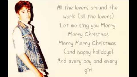 Justin Bieber Christmas Love Lyrics-0