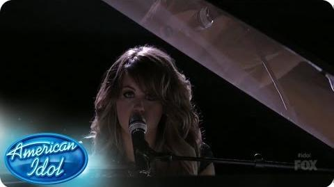 """Angie Miller Performs """"Love Came Down"""" - AMERICAN IDOL SEASON 12"""