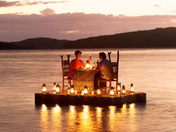 Dinner on the water