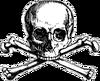 Hades skull logo
