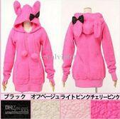 Women-s-hoody-sexy-top-cute-rabbit-ears-fluffy