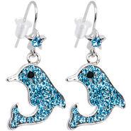 Aqua's dolphin earrings
