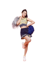 Cheerleader kim png