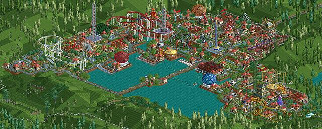 File:800px-Roller Coaster Tycoon Aqua Park.jpg