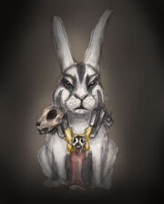 Warrior Rabbit Color by Mr Miston