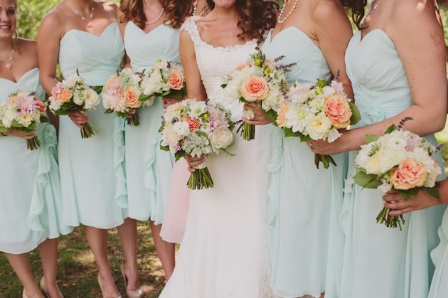 Image - Rustic-Chic-Mint-Green-And-Coral-Pennsylvania-Wedding ...