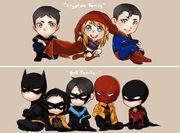 Batfamily v Kyrptonfamily